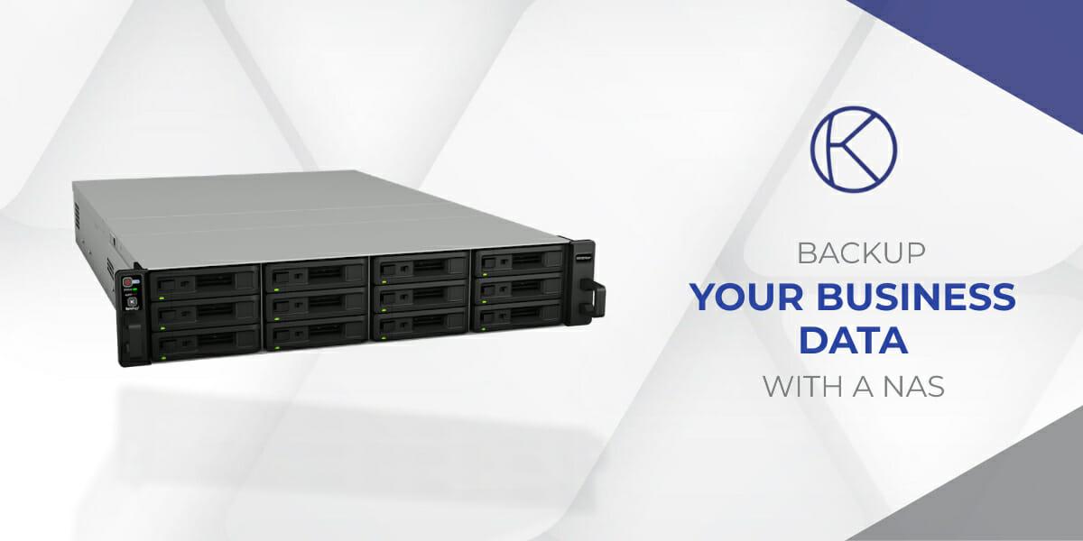 Un appareil NAS pour la sauvegarde des données d'entreprise